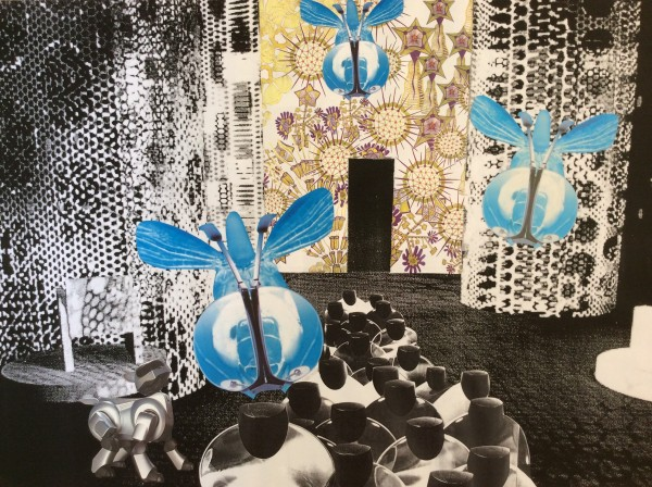 Toepassing in het interieur, collage