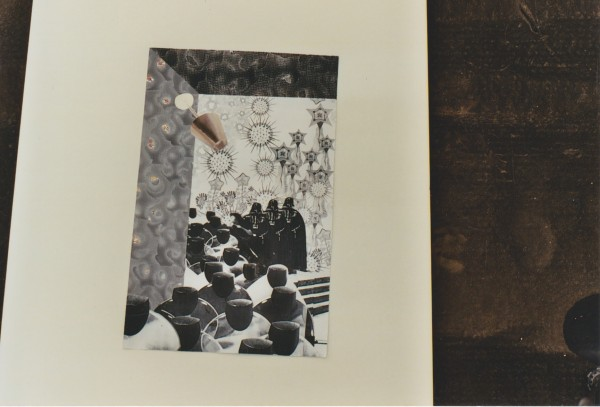 Toepassing in het interieur, collage