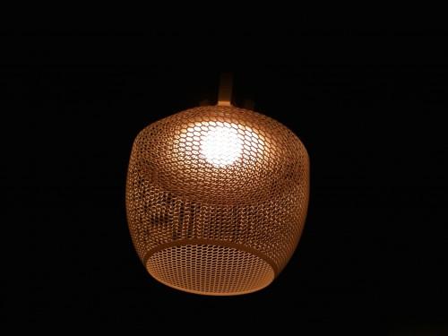 3-D geprint lampe kapje -52 shapes