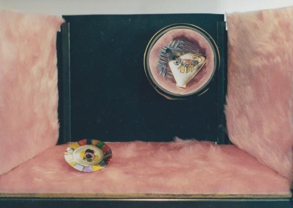 Etalage 5, pronkstukken museum Twinkelbel, maquette