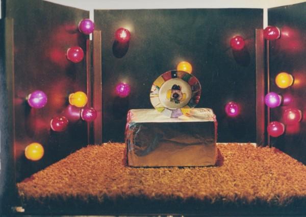 Etalage 1, pronkstukken museum Twinkelbel, maquette