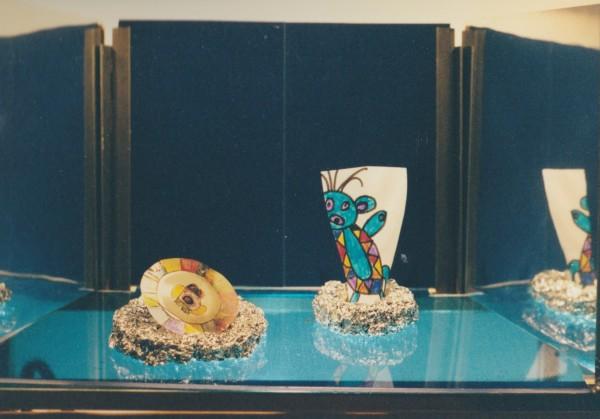 Etalage 3, pronkstukken museum Twinkelbel, maquette