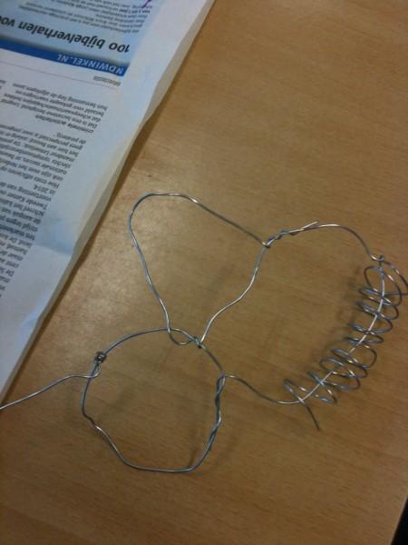Nog een knoopsel, met een aanzet voor de derde dimensie